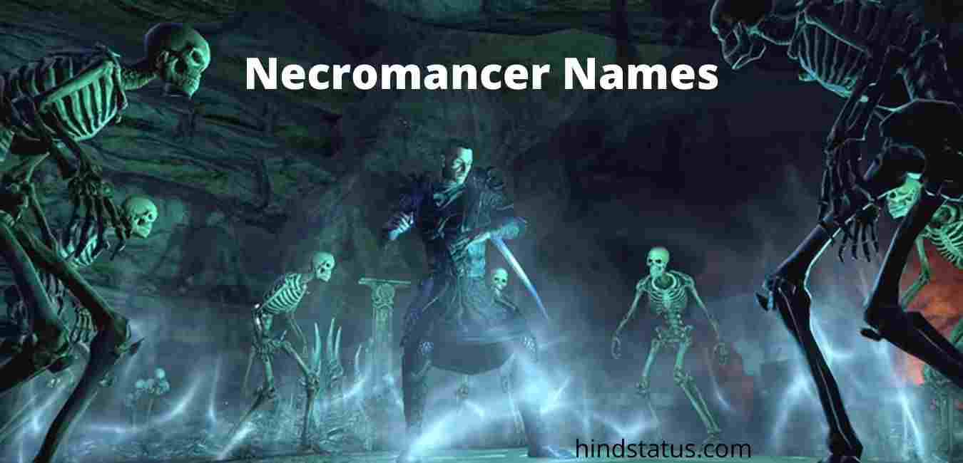 Necromancer names