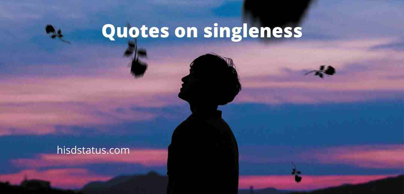 Quotes on singleness