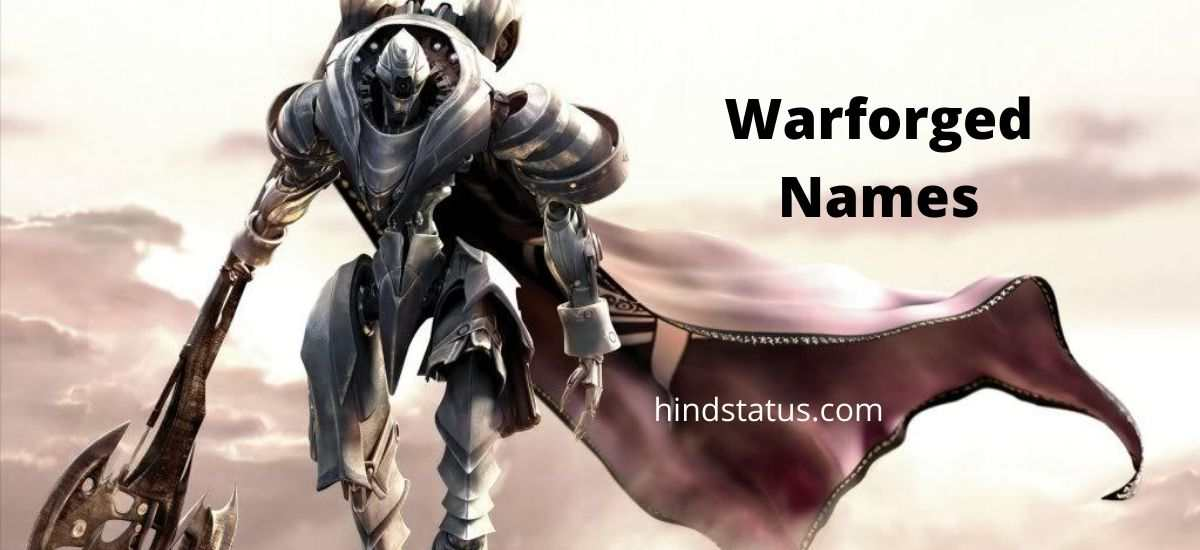 warforged names