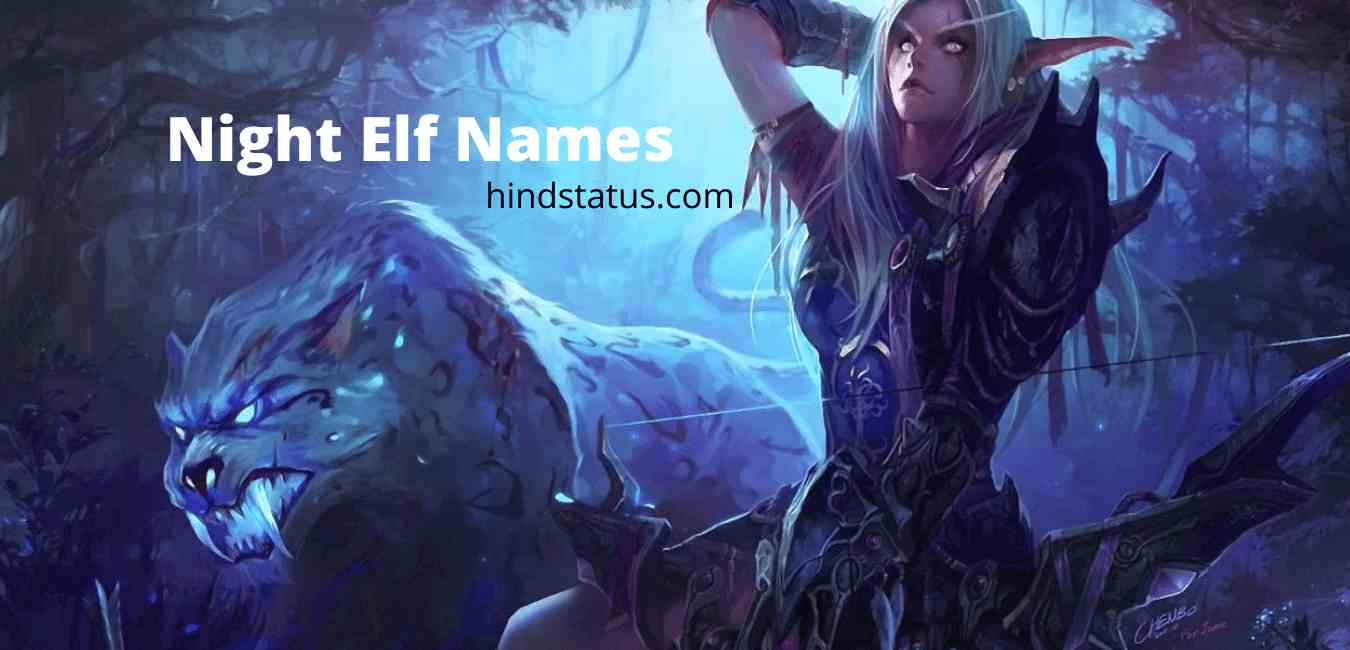Night Elf Names